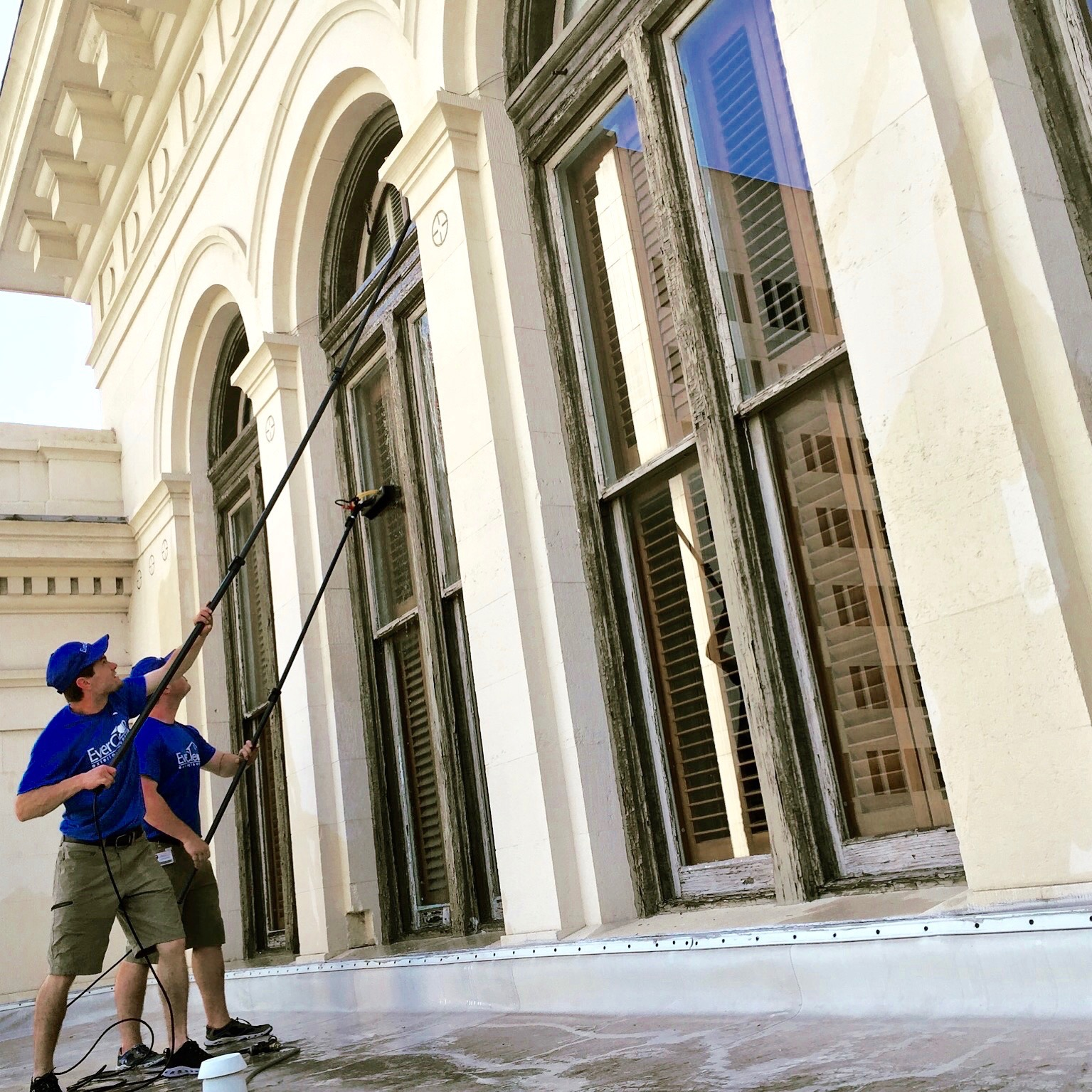 What makes our window cleaning process so special?